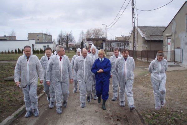 Wizyta gospodarstw zajmujących się chowem drobiu