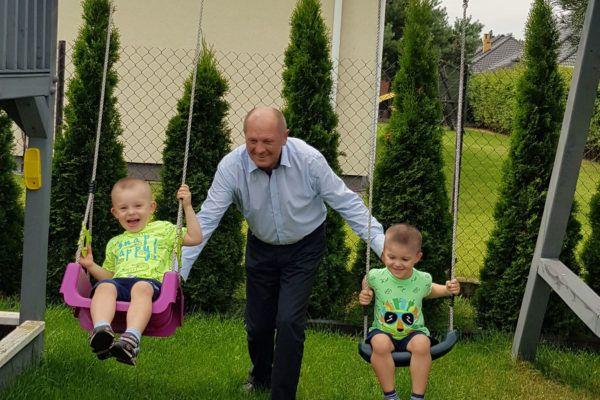 Z wnukami