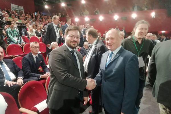 ze Stanisławem Tyszką, posłem KUKIZ'15 , wicemarszałkiem Sejmu RP